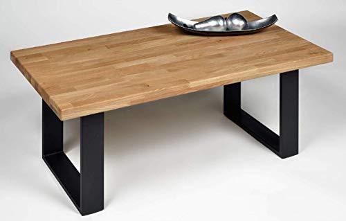 Küchen-Preisbombe Wohnzimmer Couchtisch Sofatisch Beistelltisch Tisch Couch Eiche massiv -