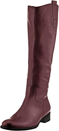 Gabor Shoes Damen Fashion Hohe Stiefel, Rot (Merlot (Effekt) 35), 37 EU