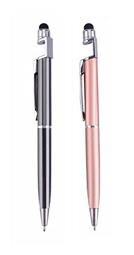 FEDUS®️ Universal Touch Screen Capacitive Stylus Pen Compatible for Android iPad iPhone Samsung Tablet, All Mobile Phones, Tablet PC (Multicolour) Pack of 2