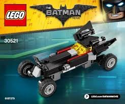 Lego 30521 The Batman Movie Exclusive Polybag The Mini Batmobile