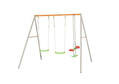 Preisvergleich Produktbild Trigano Metallschaukel Aida mit Tellerwippe Höhe 2,2m