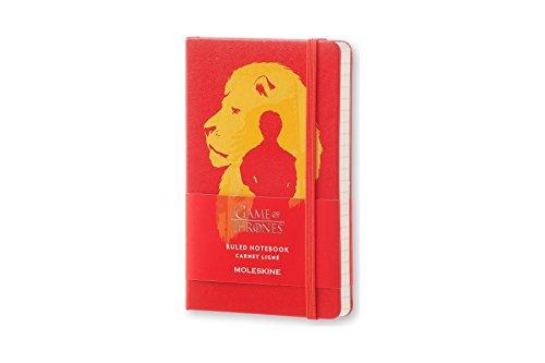 Moleskine LEGTMM710 - Cuaderno diseño Juego de Tronos, de rayas, edición...