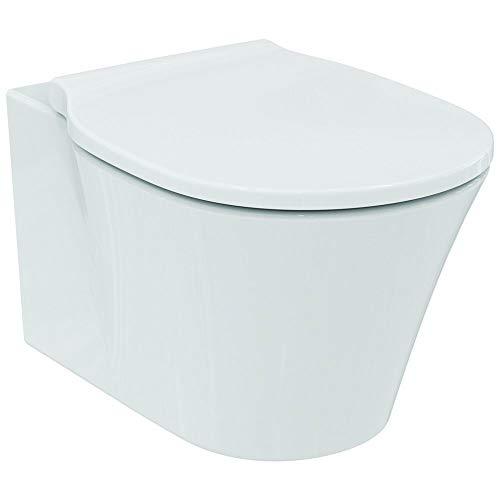 Ideal Standard Wand-T-WC CONNECT AIR, spülrandlos, unsichtbare Befür, 360x540x340mm, Weiß, E015501