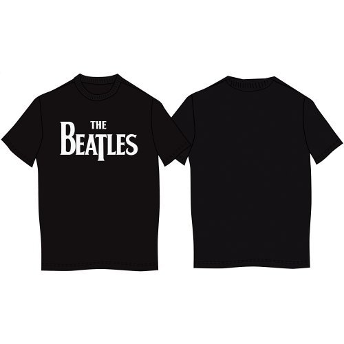 The Beatles Herren, T-Shirt, Drop T, GR. X-Large (Herstellergröße: X-Large), Schwarz (Black) (Beatles-schwarz T-shirt)