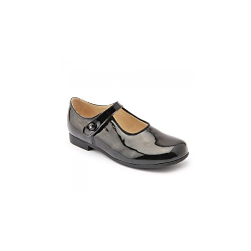 Start-Rite Kate Black Patent Mary Jane Shoes Schwarzes Lackleder