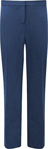 Banner Damen Schuluniform formelle Kleidung trimley enganliegend Cool Hose Senior - Marine, Waist-38 Leg-33 Length-L (Formel Senior)