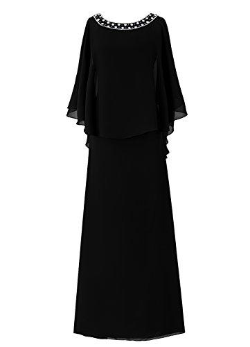 Dresstells, A-ligne robe longue de mère de mariée, robe de demoiselle d'honneur Blush
