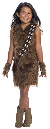 Rubie's Star Wars - Girls Deluxe Chewbacca Dress (Chewbacca Girl Kostüme)