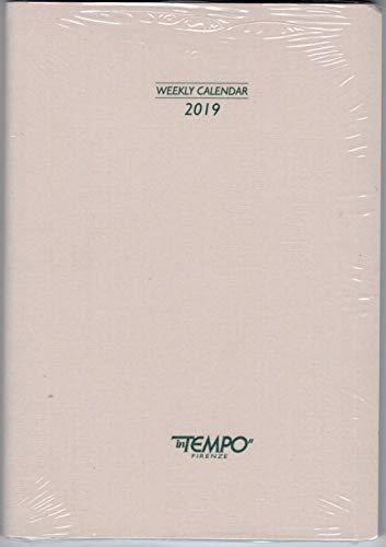 RICAMBIO INTERNO AGENDA GIORNALIERO 2019 CM. 17x24 FASCIATA IN CARTONCINO + omaggio segnalibro