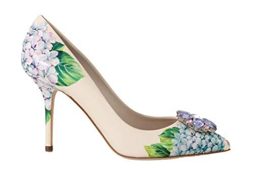 Dolce & Gabbana - Damen Schuhe - Pumps Leather Hortensia Crystal Pumps- EU 39