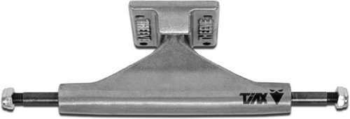 Theeve Titanium CSX 5.5 Mid Raw Skateboard Trucks Includes Bones Bushings - 8.25 Axle (Set of 2) by Theeve (Bones-bushings)