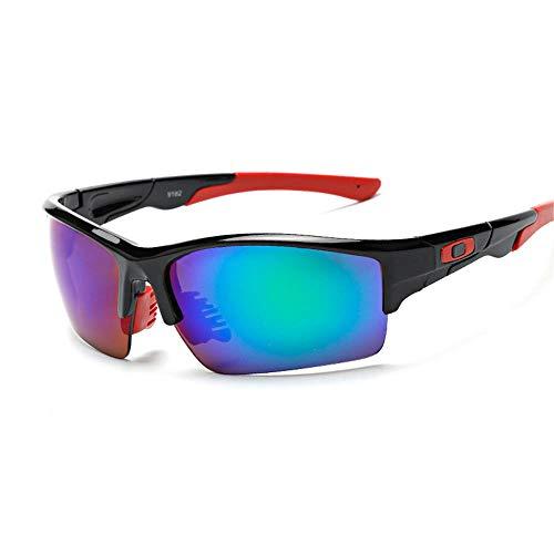Outdoor-Sportbrillen Herren- und Damenfahrradbrillen UV400 Angeln, Laufen, Fahren, Golf @ 1 - Oakley Damen Sonnenbrille Laufen