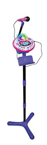 Vtech 80-165804 Kidi Super Star Lightshow Karaoke Karaokemaschine, Mehrfarbig