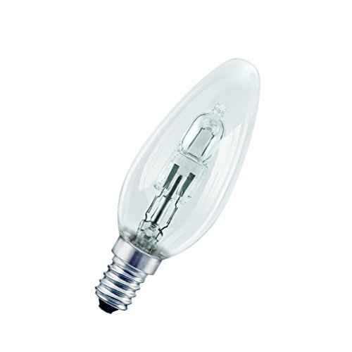Halogenlampe Kerze 30 Watt klar E14 64542 ECO HALOCLASSIC - Osram
