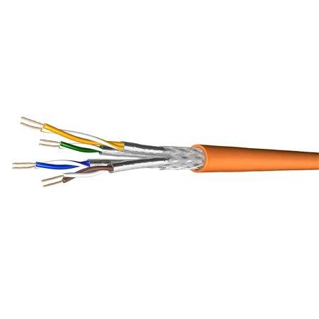 draka-cable-de-brassage-uc900-ss27-cat-7-s-ftp-pimf-orange-500m-sur-rouleau