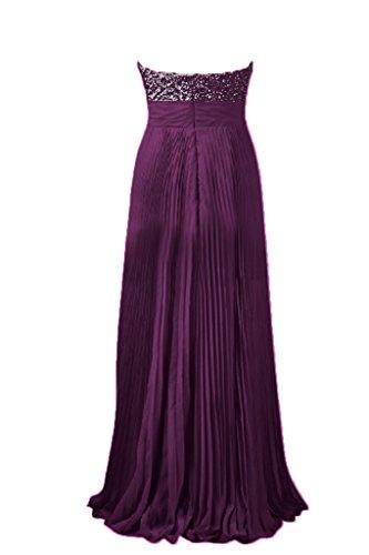 Toscana sposa alla moda Empire Chiffon dal giovane sposa per una serata vestimento Party Ball Bete vestimento Uva
