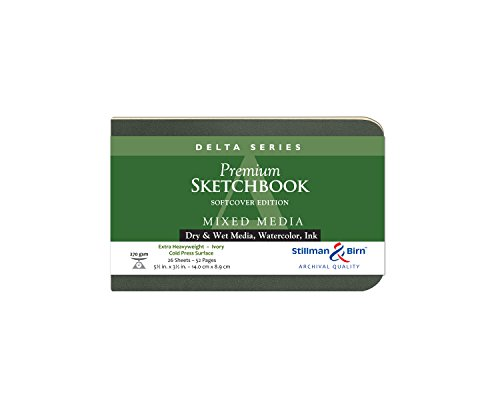 Delta Softcover Sketchbook 5.5X3.5 Ls by Stillman & - And Stillman Birn-delta