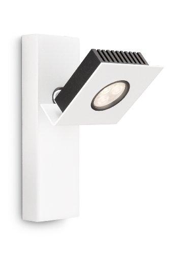 Philips Ledino LED-Wandspot Metrys 1-flammig dimmbar 6 W, weiß 564303116