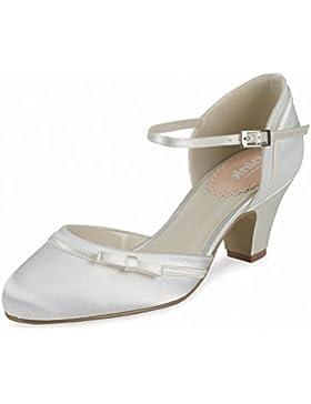 Paradox London Pink Due Parte particolare dell'arco tacco medio scarpe da sposa Buttercup
