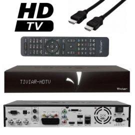 Formuler Tiviar Alpha + Plus 2x DVB-S2 / 1x DVB-T/T2- C Hybrid STB Receiver inkl. 2TB Festplatte