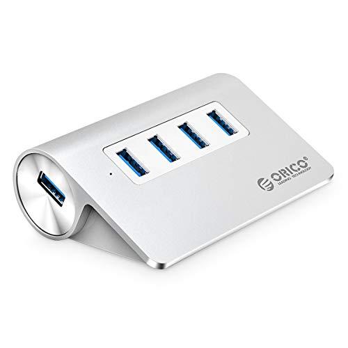 ORICO Aluminio Hub USB 3.0 4 Puertos Alta Velocidad con Cable USB...