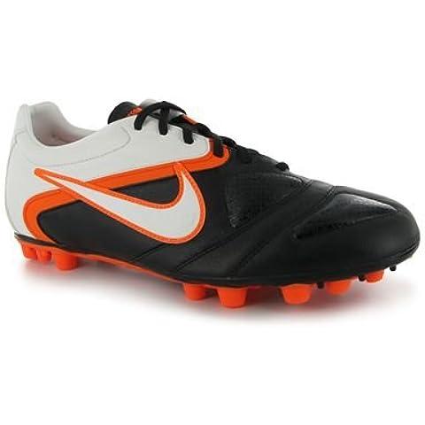 Nike - 429536 - Ctr360 Libretto Iii Ag - Bota De Fútbol - Hombre - Color : Blanco/Negro/Naranja - Talla Uk :