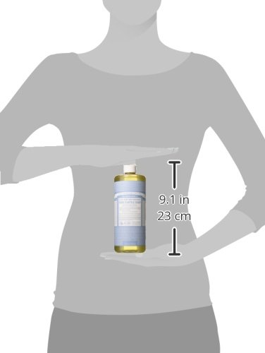 31UBrM656WL - Dr Bronner'S | Baby Castile Liquid Soap | 1 x 946ml