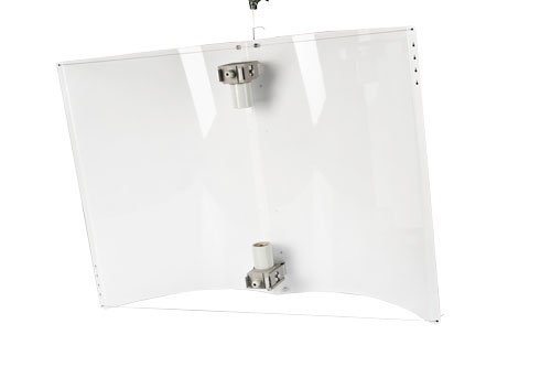 Adjust-a-Wings Defender Reflektor WHITE large inkl. 2 x Fassung Grow für Natriumdampflampe NDL (Grow Reflektor)