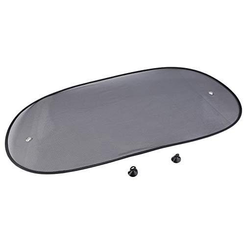 Preisvergleich Produktbild Pudincoco 50x100cm Auto Heckscheibe Sonnenschutz Sonnenschutz Visier Abdeckung Mesh Schild Schutz Wärmedämmung (schwarz)