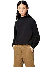 find. Damen Sweatshirt Soft Jersey High Neck