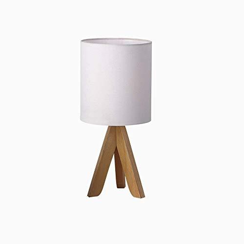 TXDZ Warme Kreative Einfache Tuch Schreibtischlampe Moderne Log Schlafzimmer Led Tischleuchte...