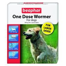 Beaphar One Dose Wormer Large Dog by Beaphar