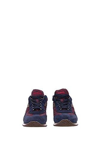 EQUIPE201157656WINE Diadora Heritage Sneakers Femme Chamois Bleu Bleu