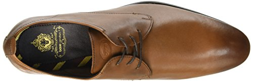 Base London Business, Chaussures Lacées Homme Beige (Softy Tan)