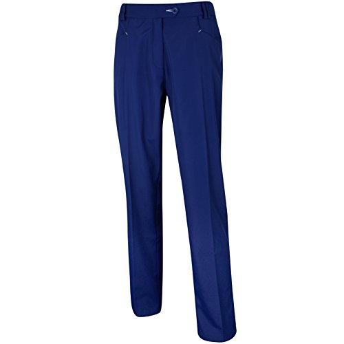 Island Green Ladies All-Weather Trouser Pantalon Femme, Bleu...