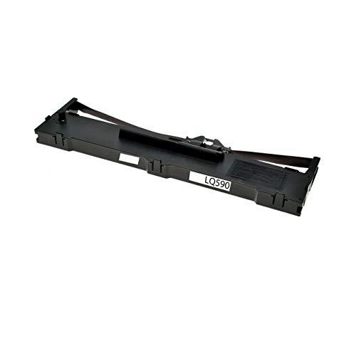 ASC-Marken-Farbband für EPSON LQ-590 / FX-890 / C13S015337 schwarz kompatibel - Schwarz-marken Farbband