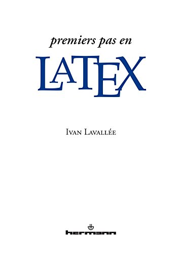 Premiers pas en LaTeX