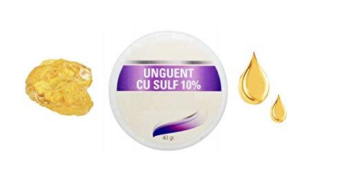 Schwefel-Creme - für seborrhoische Haut, Psoriasis, Ekzem, Akne, Dermatitis, trockene Haut - beruhigt gereizte Haut (40g) -