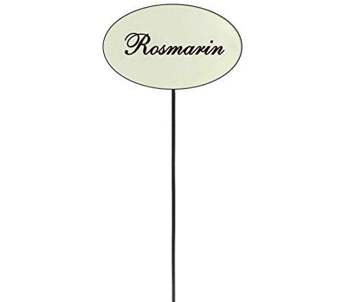 Dehner Kräuterstecker 8er Set, Höhe 25 cm
