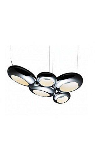 Aura Pendelleuchte (Sompex LED Kugel Pendelleuchte Aura 05 | LEDs fest verbaut 169W 10985lm warmweiß | 94270)
