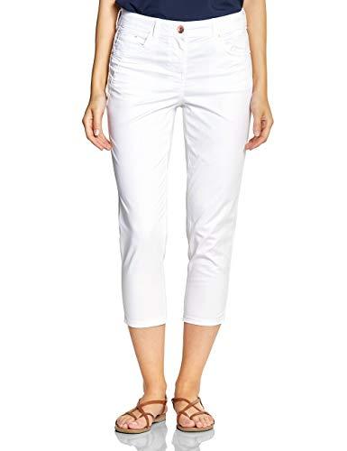 Cecil Damen 372205 7/8 Tight Fit Hose, White, W32(Herstellergröße:32)