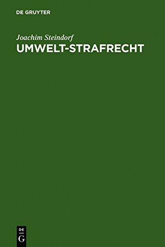 Umwelt-Strafrecht: (Sonderausgabe der Kommentierung gebraucht kaufen  Wird an jeden Ort in Deutschland