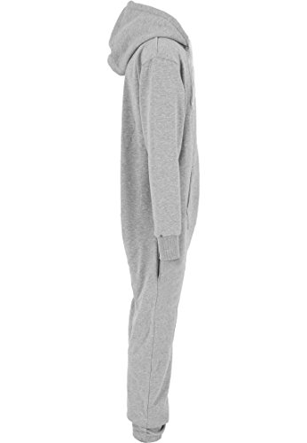 Urban Classics - Sweat Jumpsuit Overall - Grau Türkis (M/L) - 4