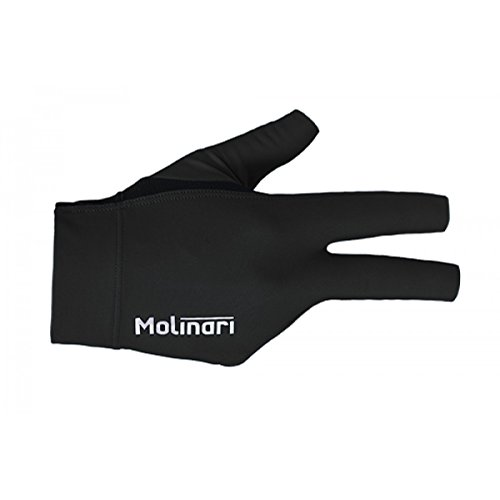 Molinari Billard Handschuh schwarz, rechte Hand