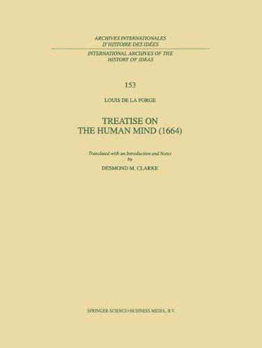 Treatise on the Human Mind (1666) (International Archives of the History of Ideas   Archives internationales d'histoire des idées)