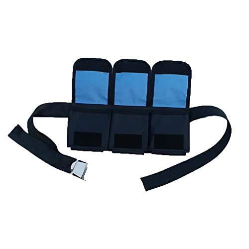 Unbekannt Tauchgürtel mit Taschen Gewicht Gürtel Bleigürtel - 3 Taschen