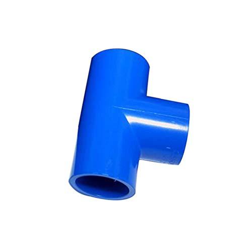 Quanjucheer Adaptateur de tuyau d'arrosage en T 20/25/32/40 mm 25mm couleur aléatoire