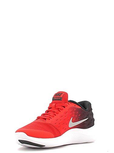 Nike Lunarstelos (Gs), Chaussures de Running Entrainement Homme Red