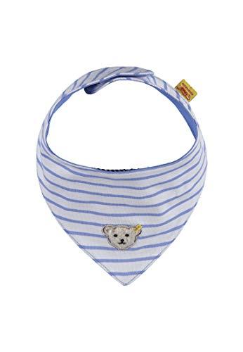 Steiff Steiff Baby-Jungen Schal Dreieckstuch Blau (Marina|Blue 3056), One Size