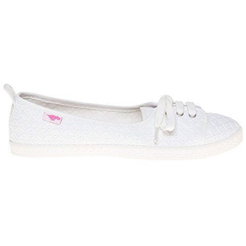 Rocket Dog Penny Kingsley Femme Chaussures Blanc Blanc